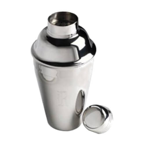 3 Piece Cocktail Shaker 550ml