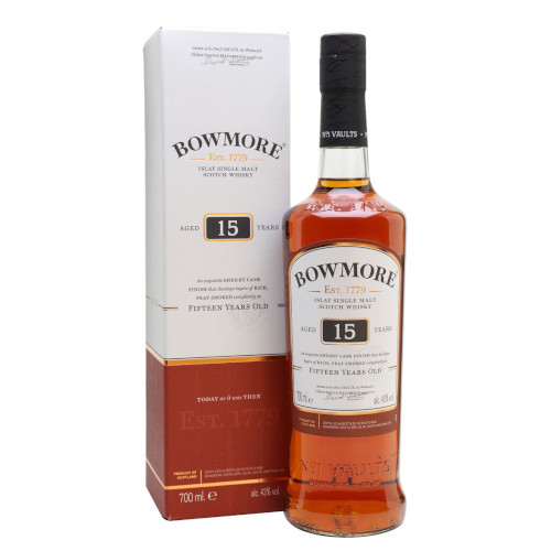 Bowmore 15 Year Old Scotch Whisky