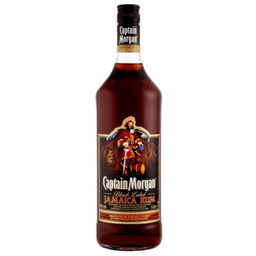 Captain Morgan Black Label Jamacia Rum