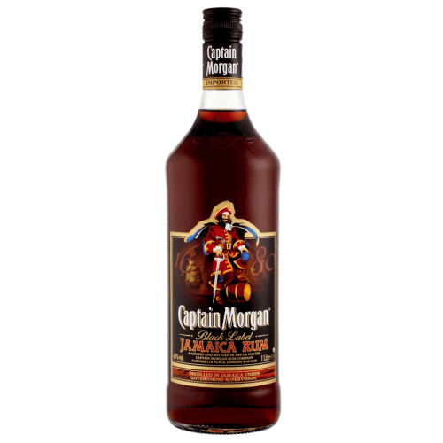 Captain Morgan Black Label Jamacia Rum