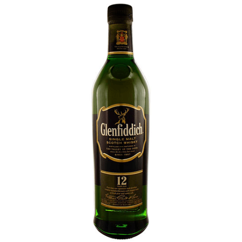 Glenfiddich 12 Year Old Scotch