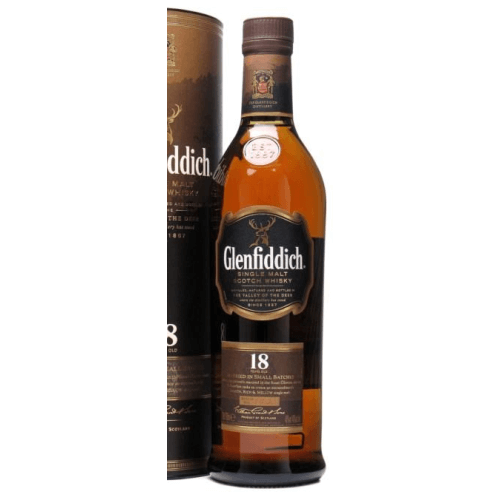 Glenfiddich 18 Year Old Scotch Whisky
