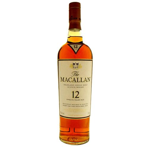 The Macallan 12 Years Scotch